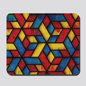 Colorful Cubes Mousepad