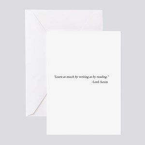LEARN AS MUCH... Greeting Cards (Pk of 10)