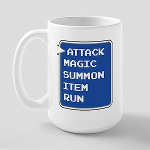 final fantasy attack magic summon item run gamer L