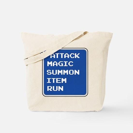 final fantasy attack magic summon item run gamer T