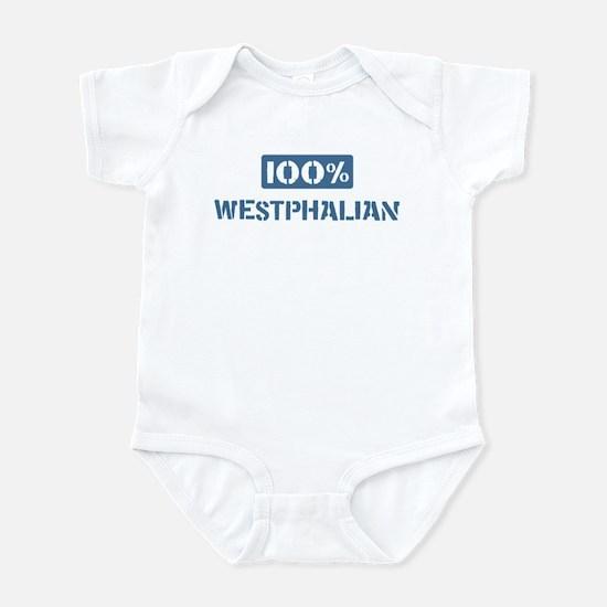 100 Percent Westphalian Infant Bodysuit