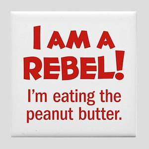 Food Rebel Tile Coaster