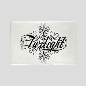 Decorative Twilight Rectangle Magnet