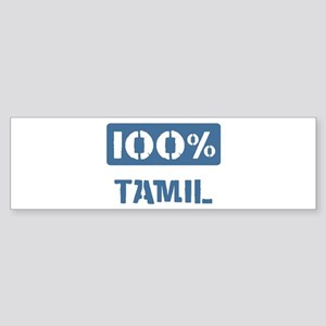 100 Percent Tamil Bumper Sticker