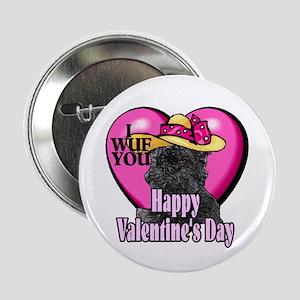 """Affenpinscher Valentines Day 2.25"""" Button (10 pack"""