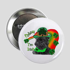 """Affenpinscher St Patricks 2.25"""" Button (10 pack)"""