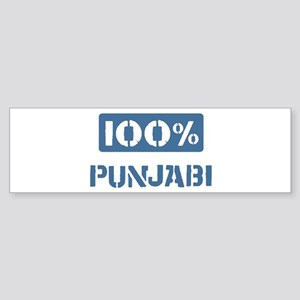 100 Percent Punjabi Bumper Sticker