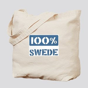 100 Percent Swede Tote Bag