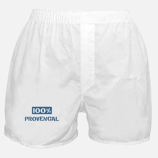 100 Percent Provencal Boxer Shorts