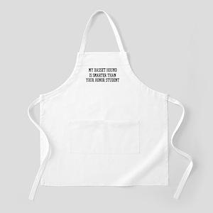 Smart My Basset Hound BBQ Apron