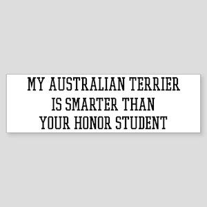 Smart My Australian Terrier Bumper Sticker