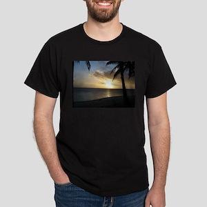 Rarotonga Sunset Dark T-Shirt
