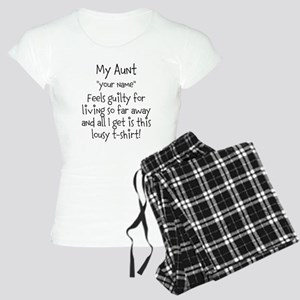 Aunt Guilty Personalized Pajamas