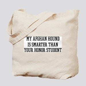 Smart My Afghan Hound Tote Bag