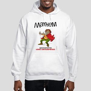 Loki's Mayhem Trickster Hooded Sweatshirt