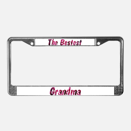 Personalized Customized License Plate Frame