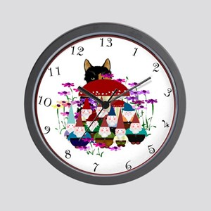 13hr Gnomes Wall Clock