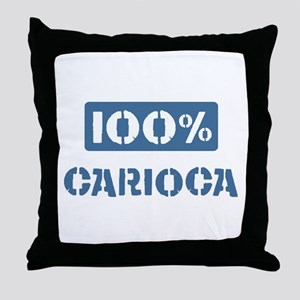 100 Percent Carioca Throw Pillow