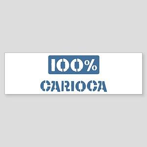 100 Percent Carioca Bumper Sticker (50 pk)