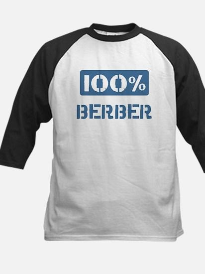 100 Percent Berber Kids Baseball Jersey