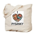 I love Pysanky 1 Tote Bag