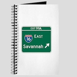 Savannah, GA Highway Sign Journal