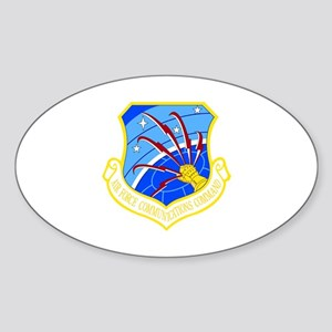 Communications Command Oval Sticker