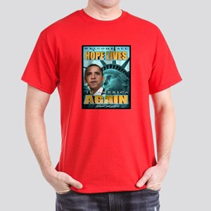 Hope Lives Again Dark T-Shirt