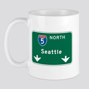 Seattle, WA Highway Sign Mug