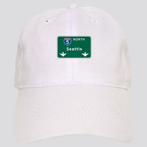 Seattle, WA Highway Sign Cap