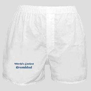 Worlds Coolest Granddad Boxer Shorts