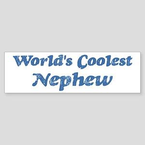 Worlds Coolest Nephew Bumper Sticker
