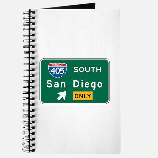San Diego, CA Highway Sign Journal
