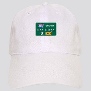 San Diego, CA Highway Sign Cap