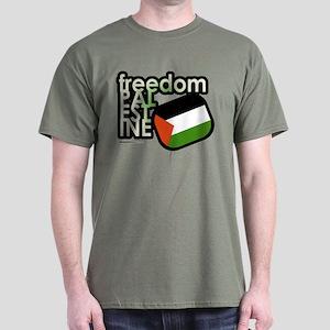 FREEDOM PALESTINE Dark T-Shirt