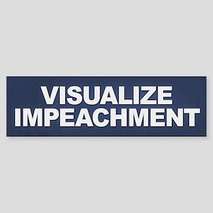 Visualize Impeachment Bumper Sticker