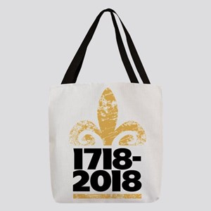New Orleans 300 Years Tricentennial Polyester Tote