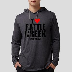 I Love Battle Creek, Michigan Long Sleeve T-Shirt