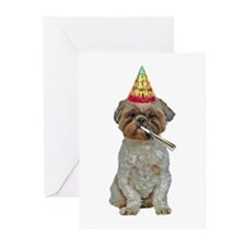 Lhasa Apso Birthday Cards (Pk of 20)