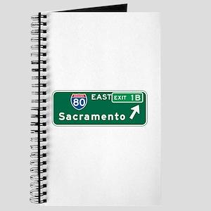 Sacramento, CA Highway Sign Journal