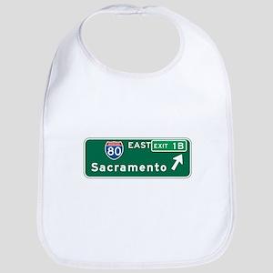 Sacramento, CA Highway Sign Bib