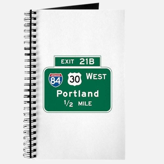 Portland, OR Highway Sign Journal