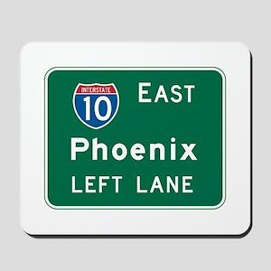 Phoenix, AZ Highway Sign Mousepad
