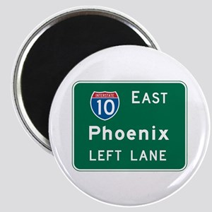 Phoenix, AZ Highway Sign Magnet