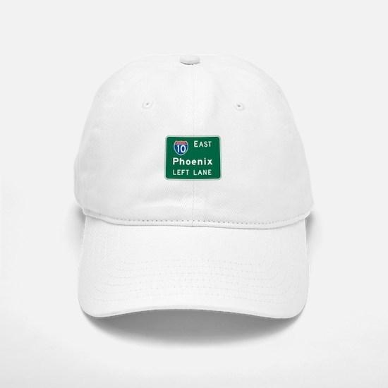 Phoenix, AZ Highway Sign Baseball Baseball Cap