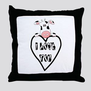 Kids Love Throw Pillow