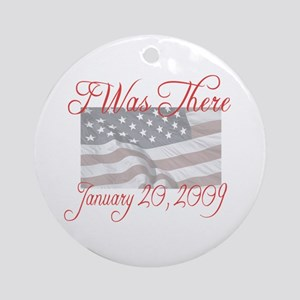 I Was There - Inauguration Ornament (Round)