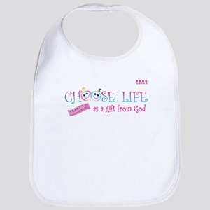 Choose Life Bib