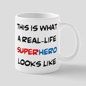 real-life superhero 11 oz Ceramic Mug