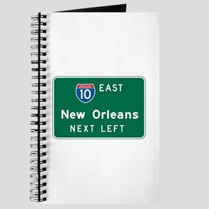 New Orleans, LA Highway Sign Journal